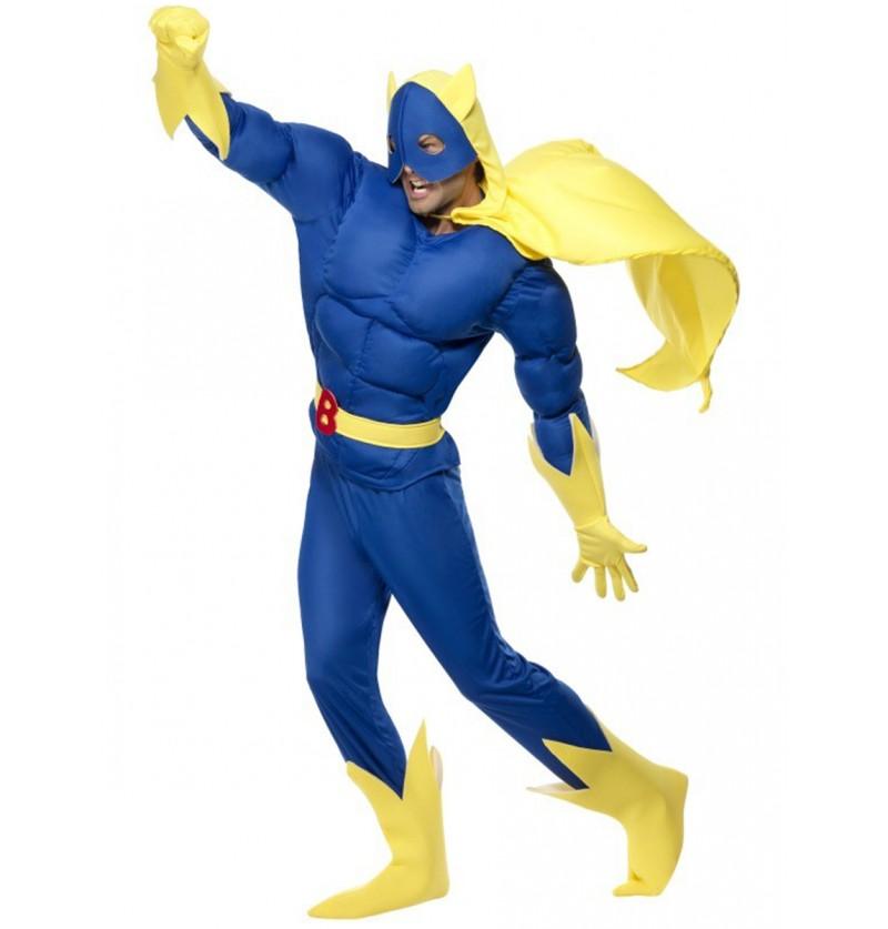 Disfraz de Bananaman Deluxe
