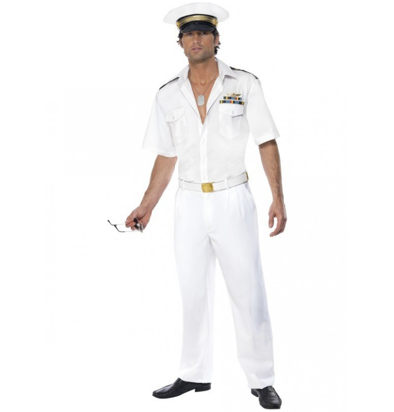 Disfraz de teniente de Top Gun