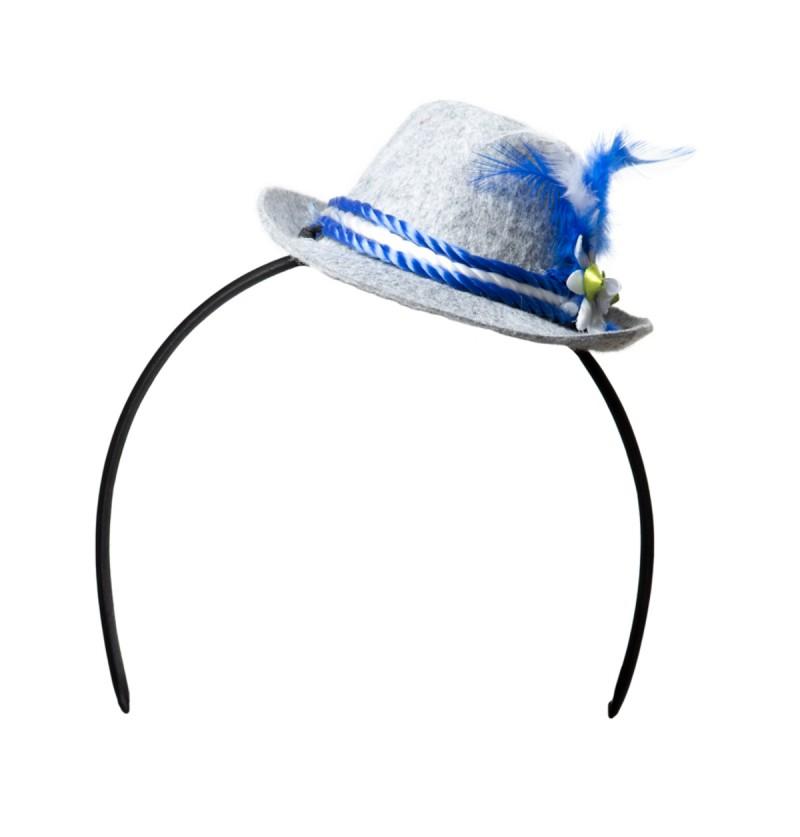 Diadema sombrero tirolés para mujer