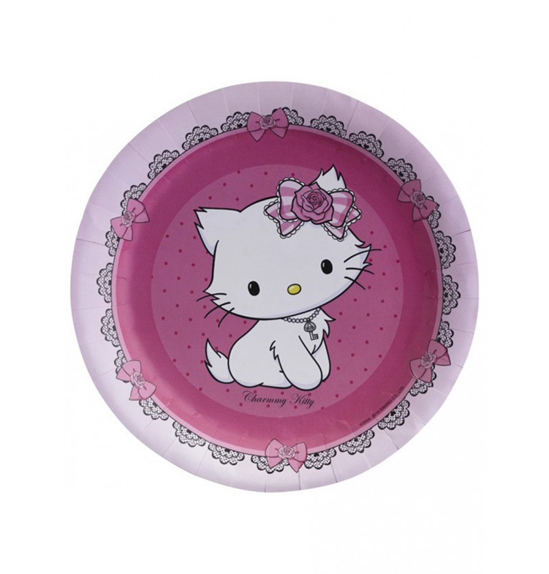 Set de platos grandes Charmmy Kitty
