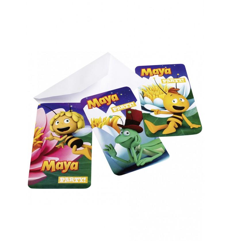 Set de invitaciones La Abeja Maya