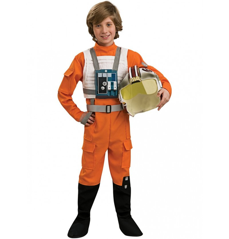 Disfraz de Piloto X-Wing infantil
