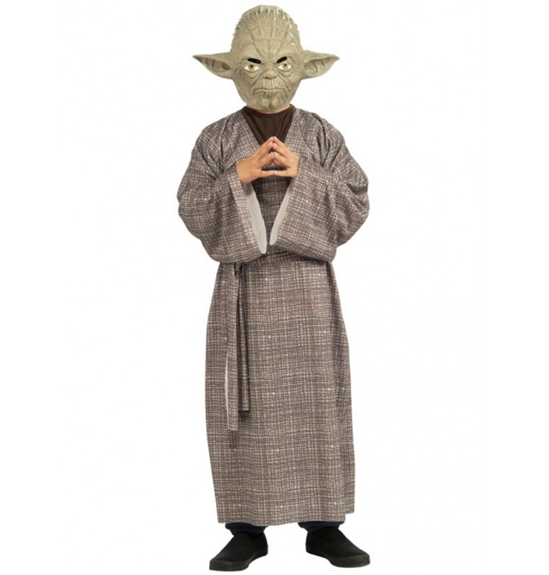 Disfraz de Maestro Yoda deluxe para niño