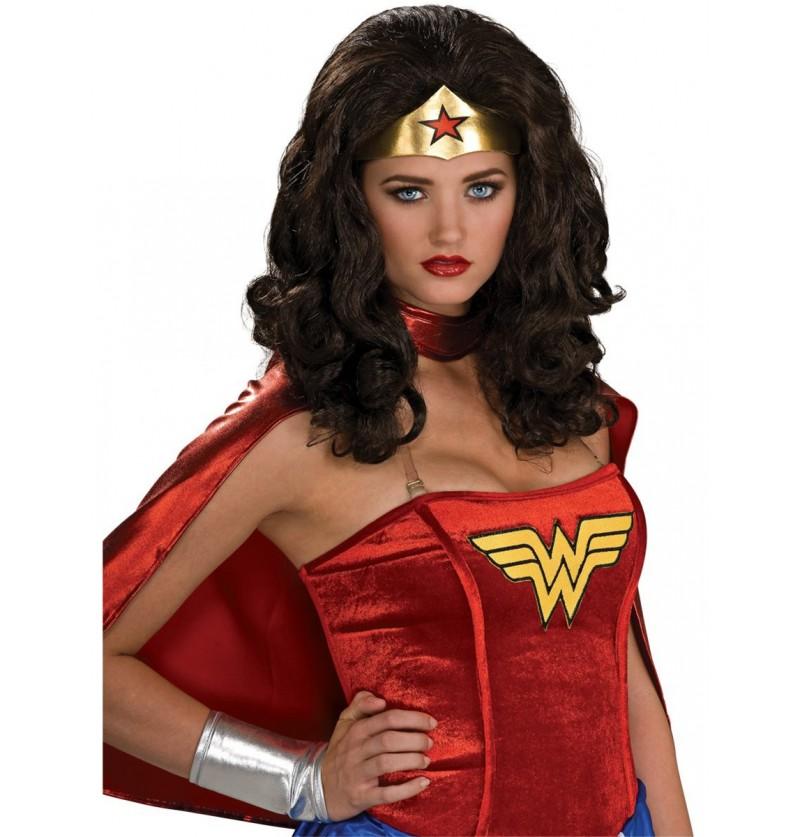 Peluca Wonder Woman