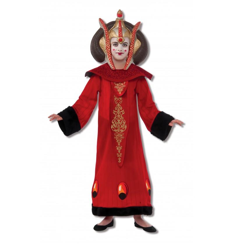 Disfraz de Reina Padmé Amidala para niña Deluxe