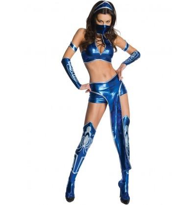 Disfraz de Kitana Mortal Kombat para mujer