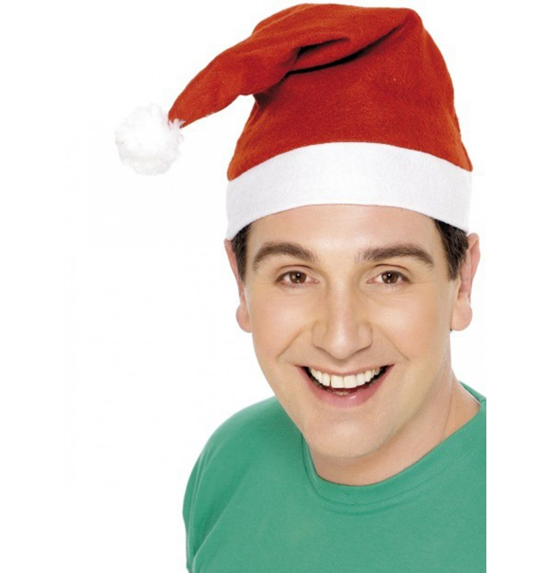 Gorro Papá Noel económico
