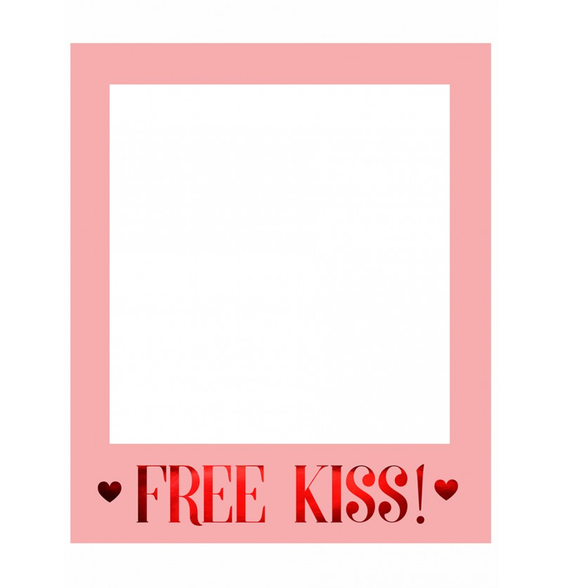 Marco para photocall Free Kiss - Valentine Collection