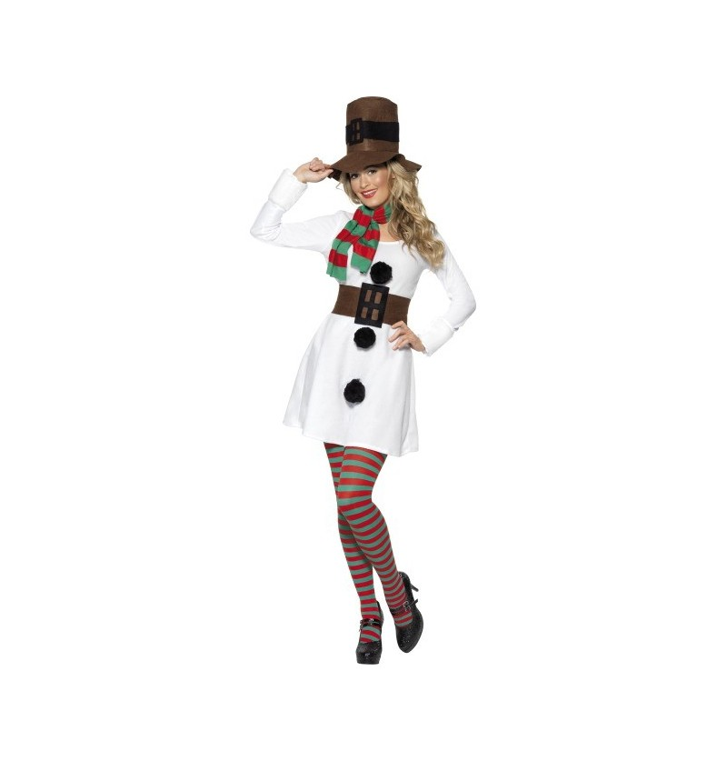 Disfraz de Muñeco de Nieve Classic para mujer