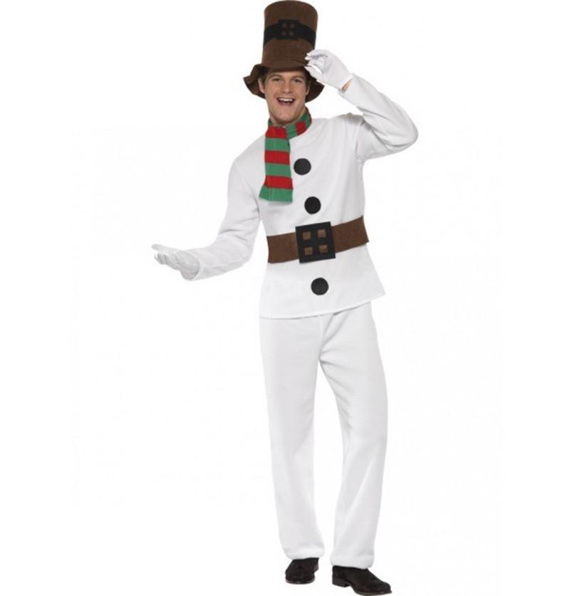 Disfraz de Muñeco de Nieve elegante