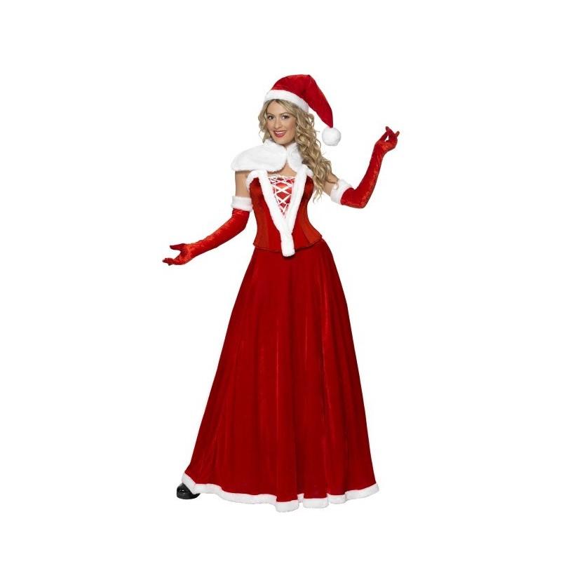 Disfraz de Mama Noel Luxury