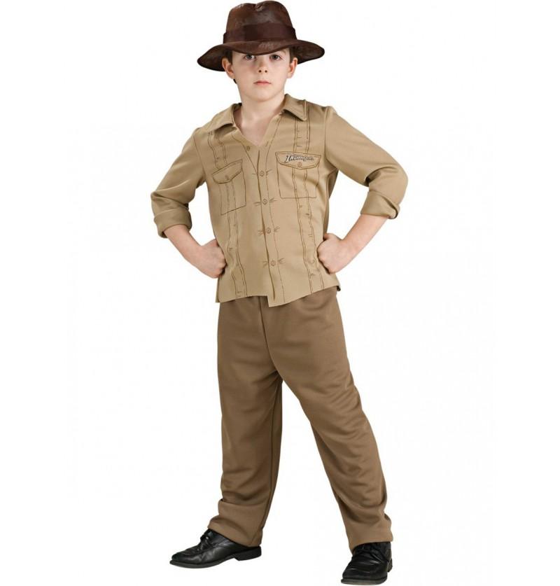 375a76d60d3fc Disfraz de Indiana Jones aventurero para niño