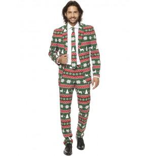 traje festive green opposuits para hombre