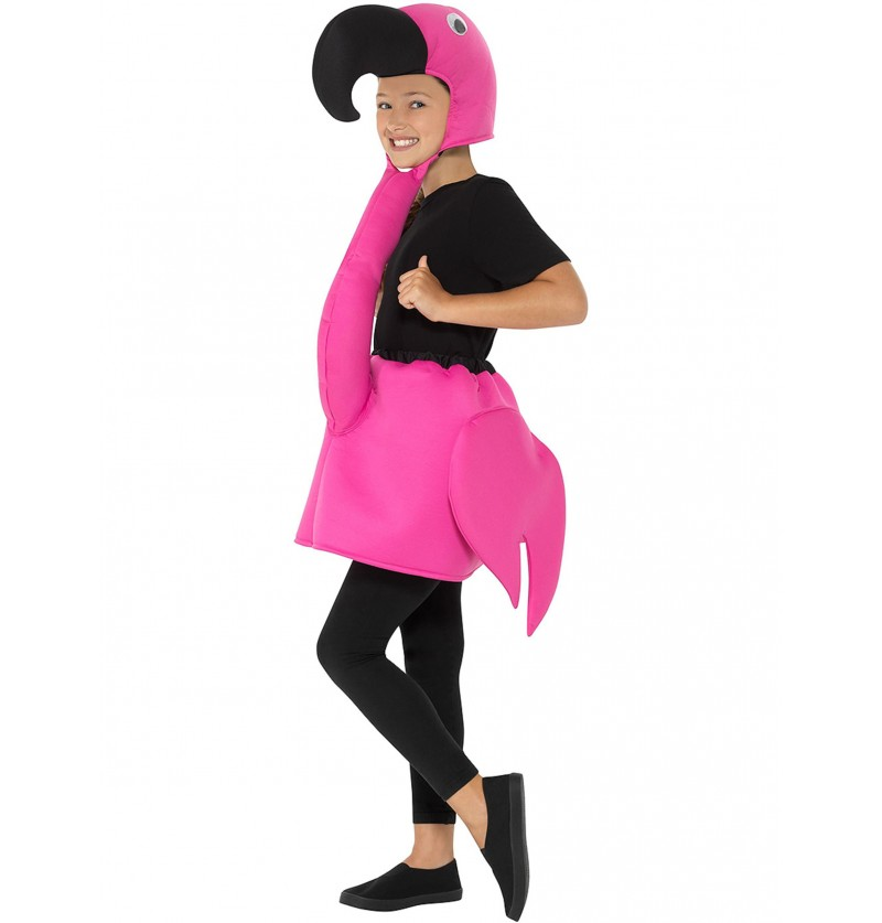 Disfraz de flamenco divertido infantil