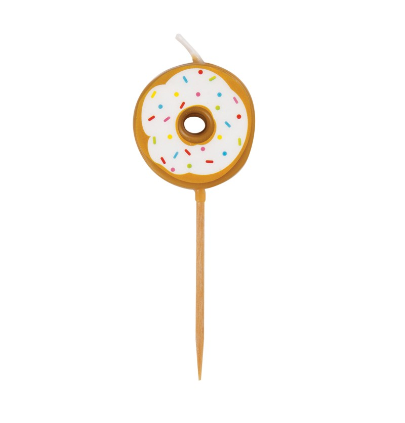 Set de 6 velas - Donut Party