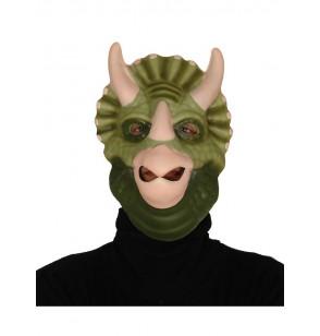 Máscara de triceratops fiestero