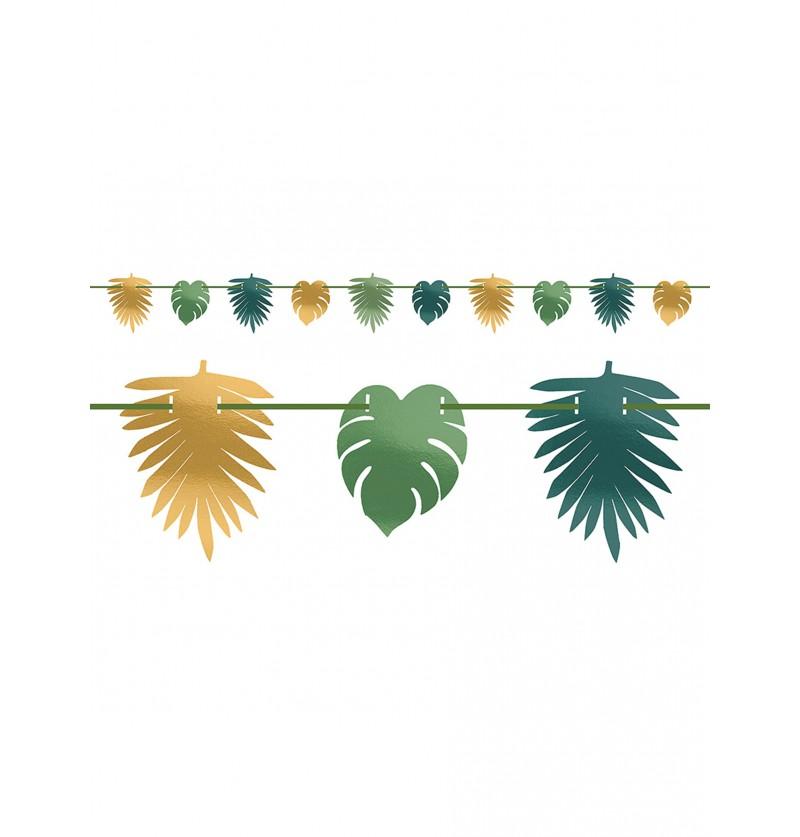 Guirnalda de hojas tropicales - Key West