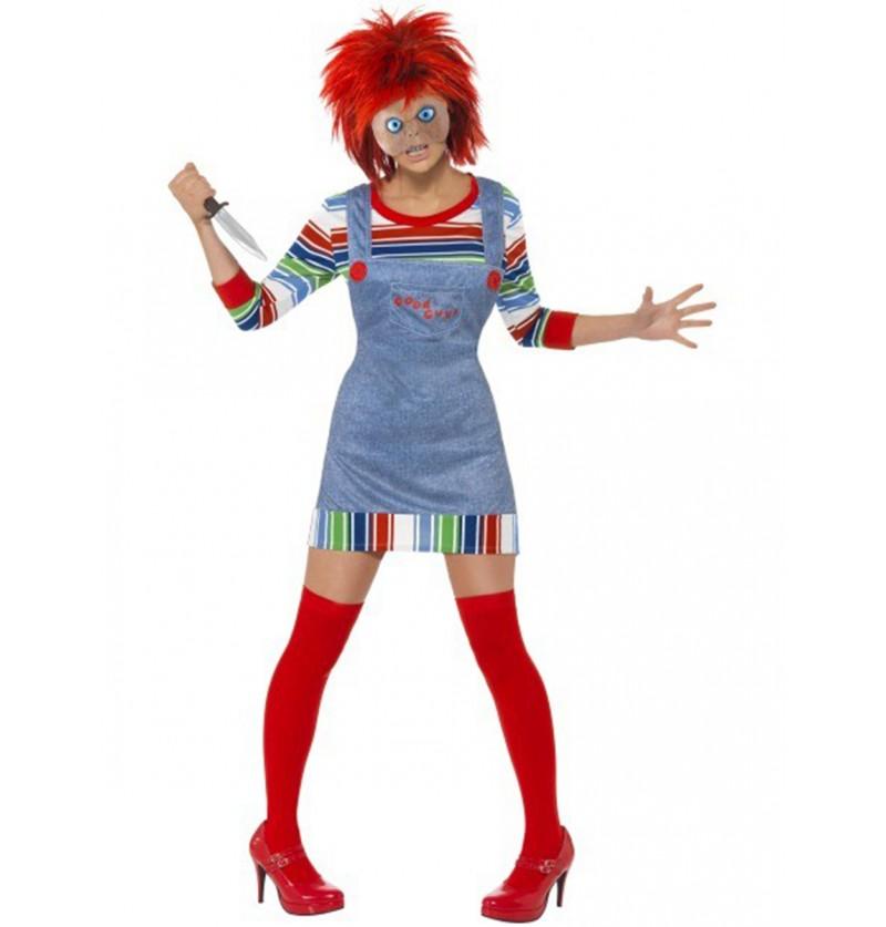 Disfraz de Chucky para mujer