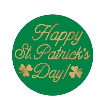Set de 18 posavasos Happy St Patrick's Day