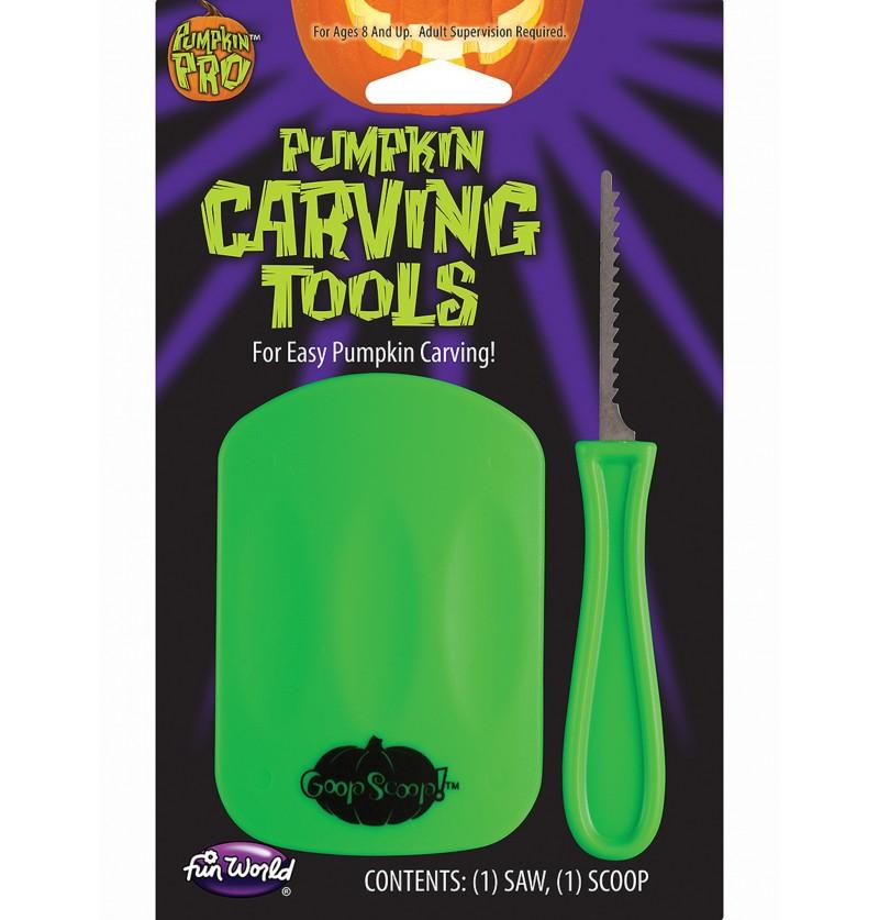 Herramientas para tallar calabazas