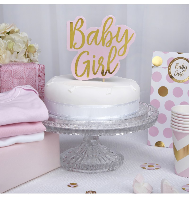"Decoración para tarta ""Baby Girl"" - Pattern Works"