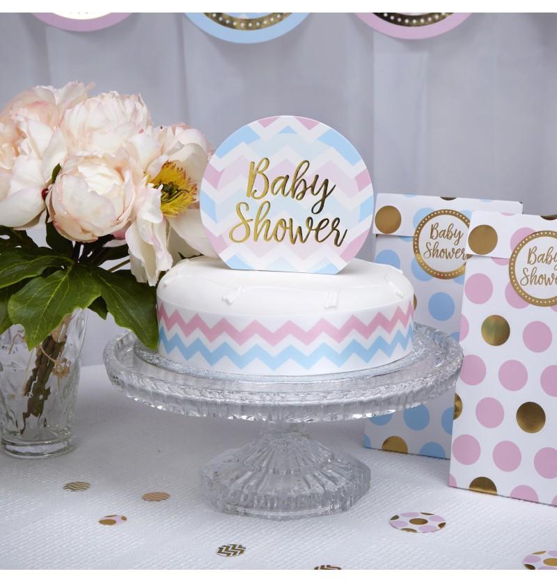 """Decoración para tarta """"Baby Shower"""" - Pattern Works"""