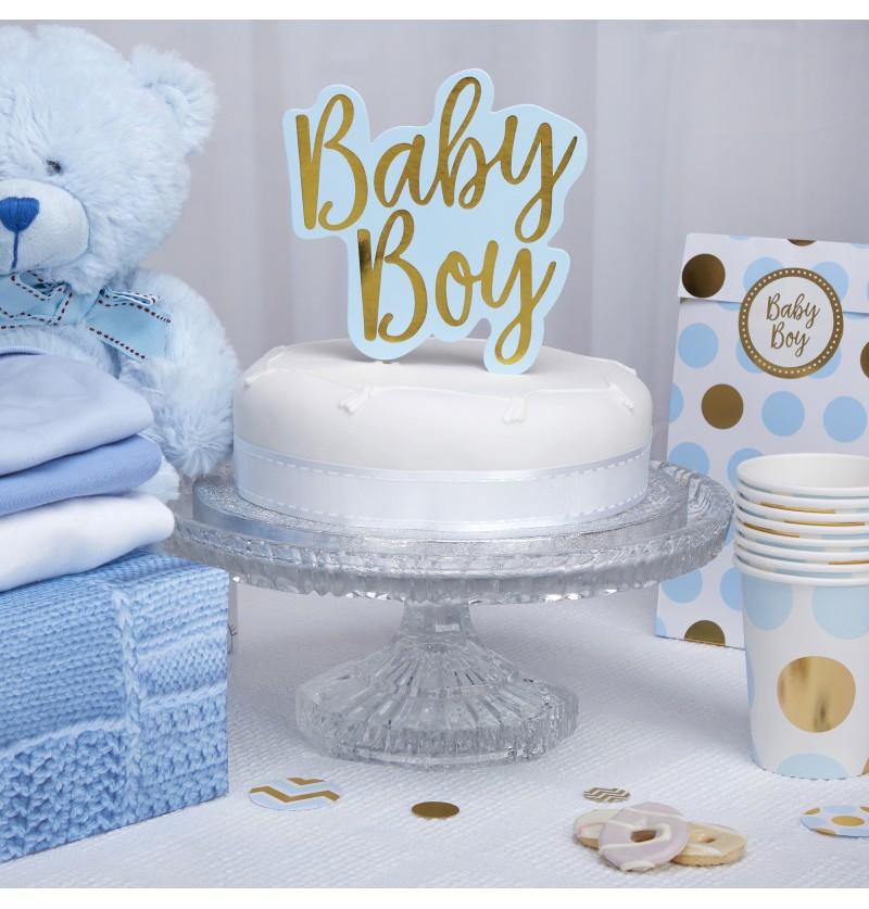 "Decoración para tarta ""Baby Boy"" - Pattern Works"