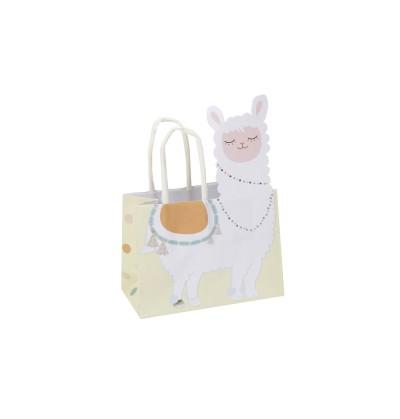 890f10d3d Set de 10 bolsas para chucherías de papel - Llama Love
