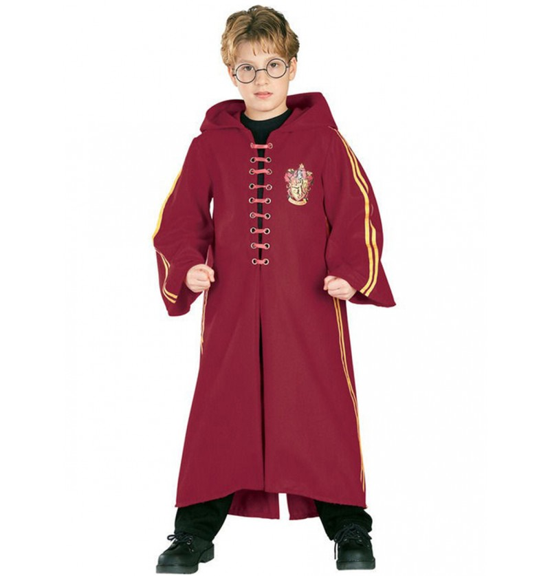 Disfraz de Harry Potter túnica Quidditch Deluxe niño
