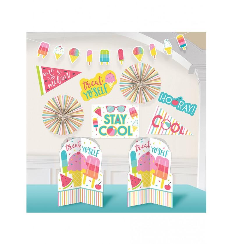 Kit de decoración de fiesta de verano - Just Chillin