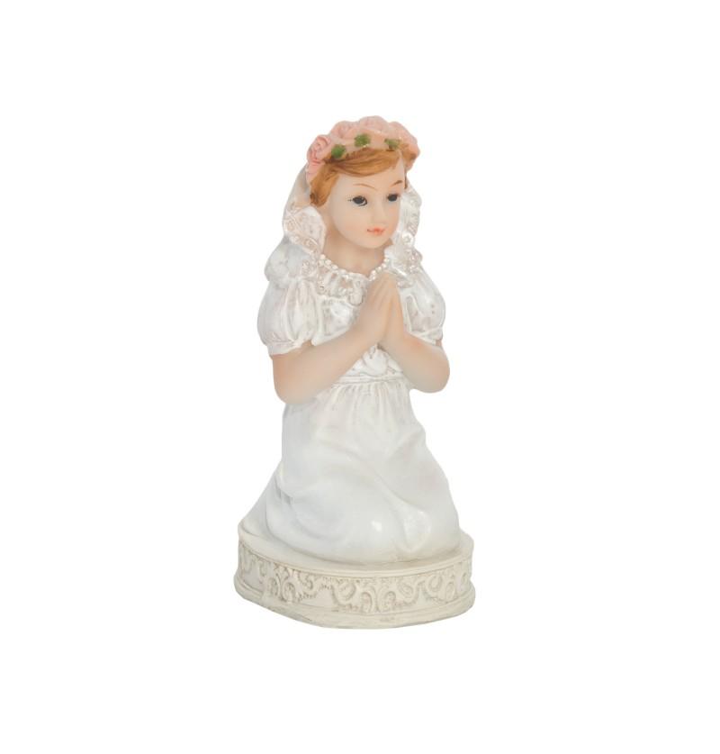 Figura decorativa Primera Comunión para niña de 11 cm - First Communion