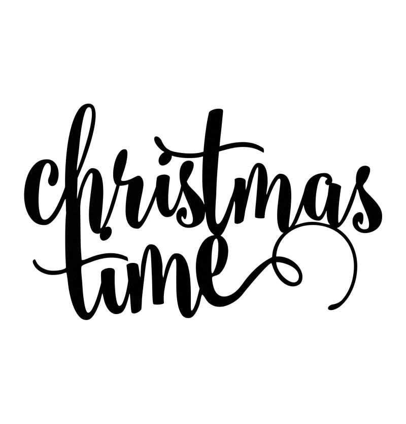 """Decoración para mesa """"Christmas time"""" - Christmas"""