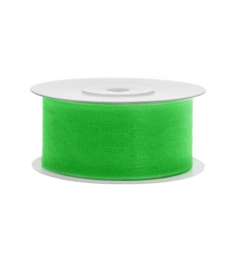 Cinta de gasa verde de 3,8 cm