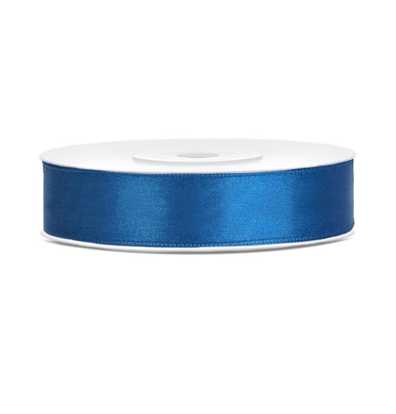 Cinta azul satinada de 12mm x 25m
