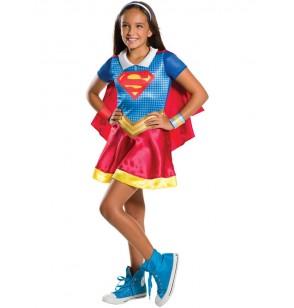 Disfraz de Supergirl y Wonder Woman DC Superhero Girls para niña