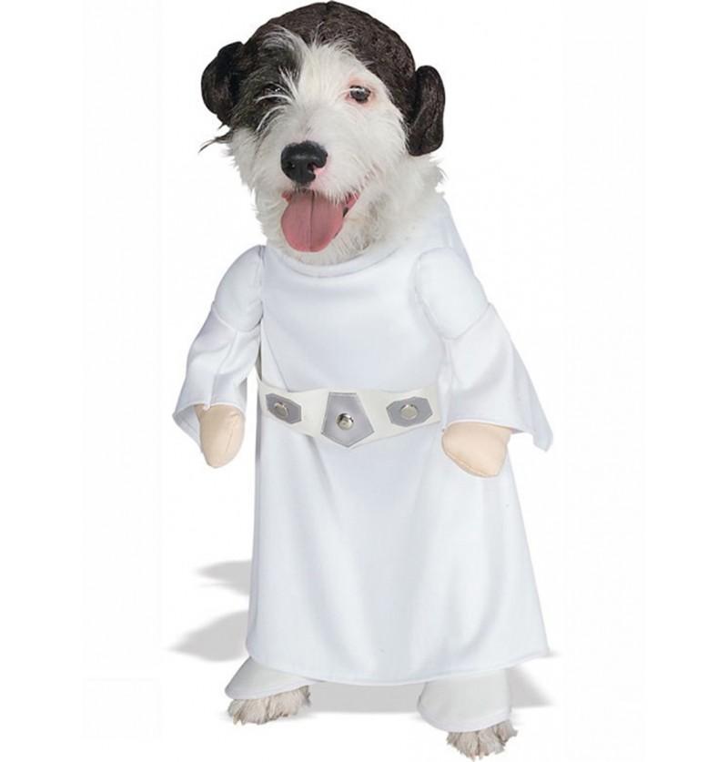 Disfraz de Princesa Leia para perro