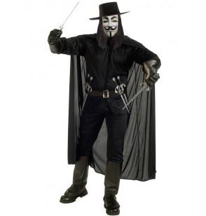 Disfraz de V de Vendetta
