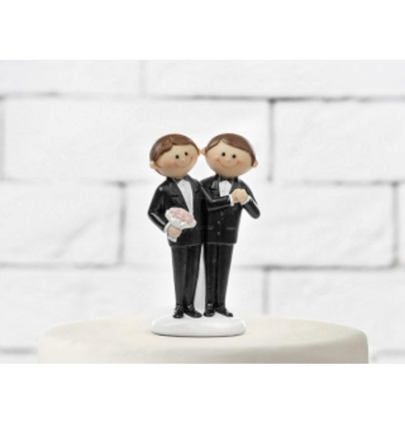 Figura para tarta de boda con novios