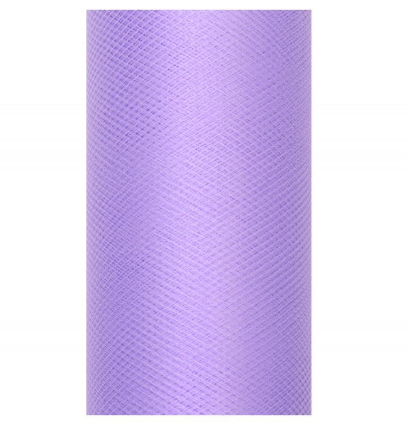 Rollo de tul violeta de 50cm x 9m