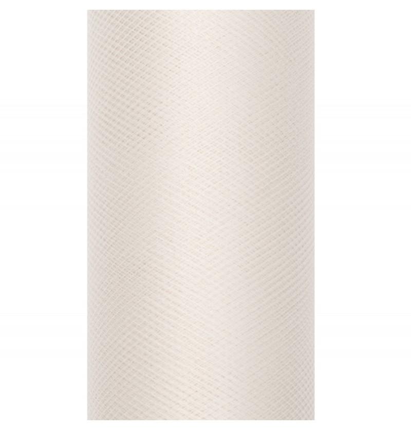 Rollo de tul beige de 30cm x 9m