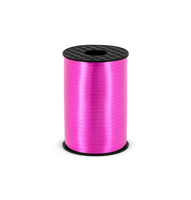 Cinta fucsia de 5 mm de plástico
