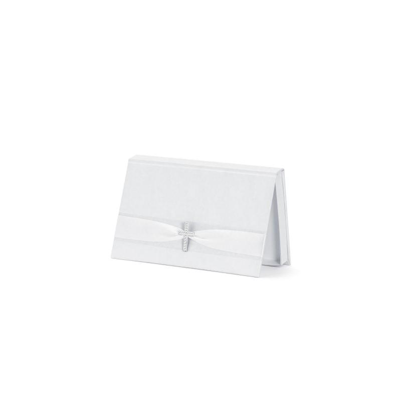 Caja blanca para dinero - First Communion