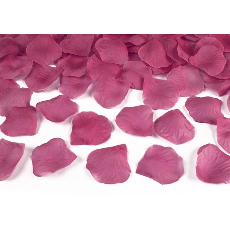 Set de 500 pétalos de rosas rosa