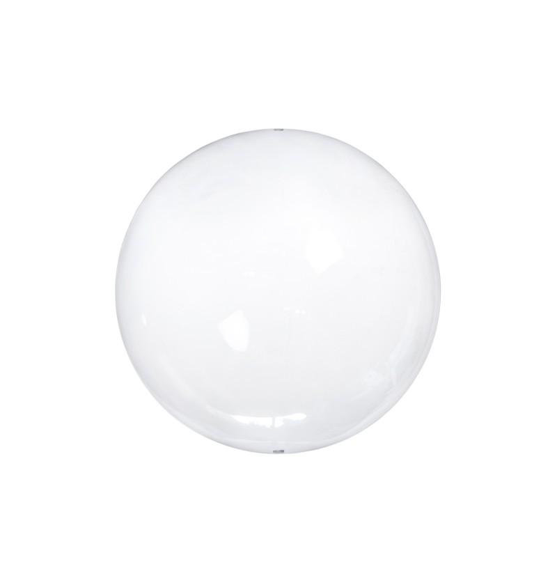Set de 4 bolas decorativas de cristal de 12 cm