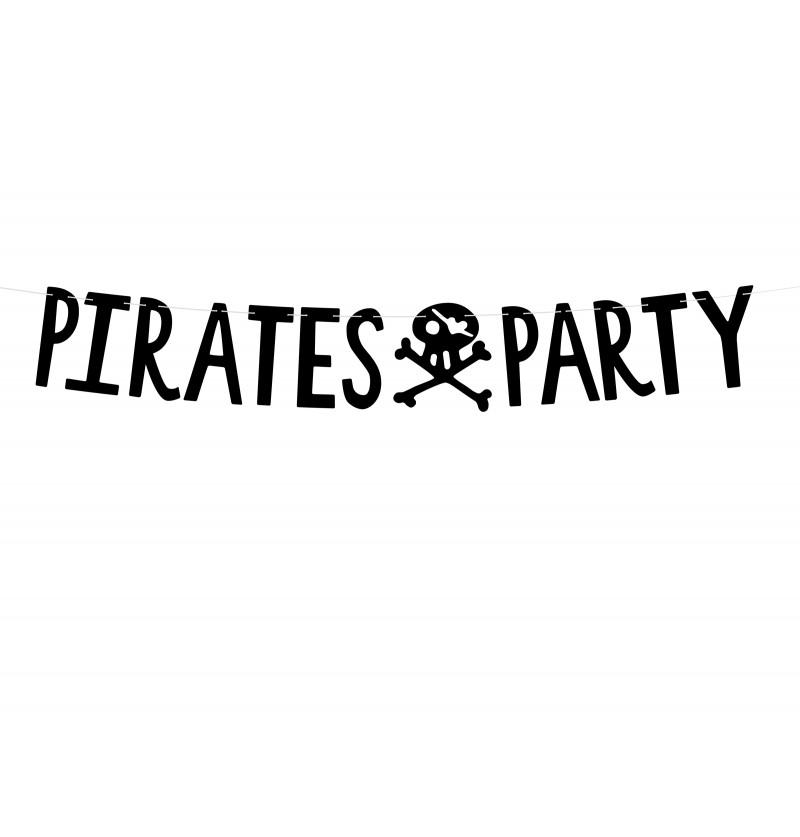"Guirnalda ""Pirates Party"" con calaveras - Pirates Party"