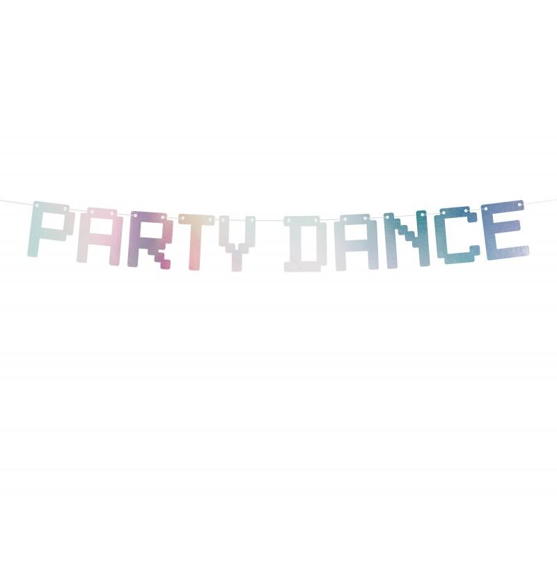 "Guirnalda ""Party Dance"" iridiscente - Electric Holo"
