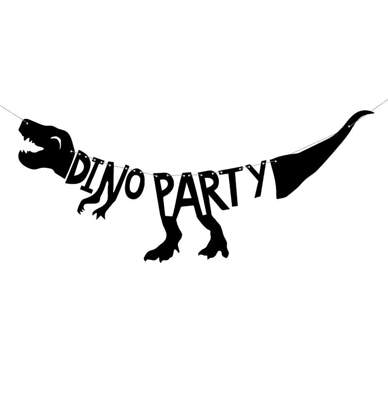 "Guirnalda ""Dino Party"" - Dinosaur Party"
