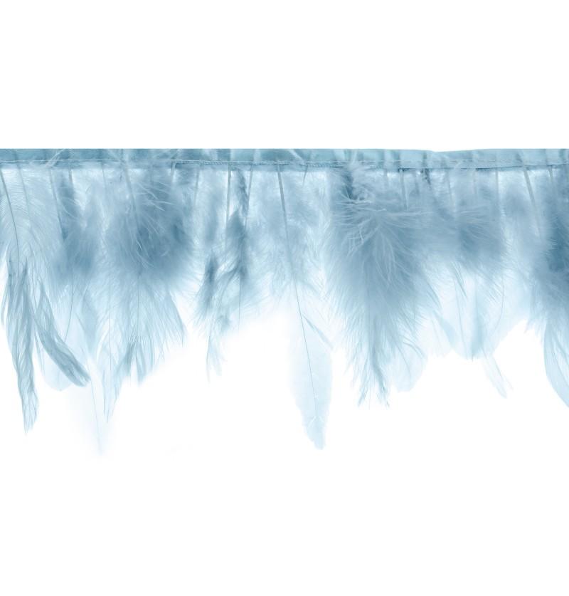 Guirnalda de plumas azules - Christening