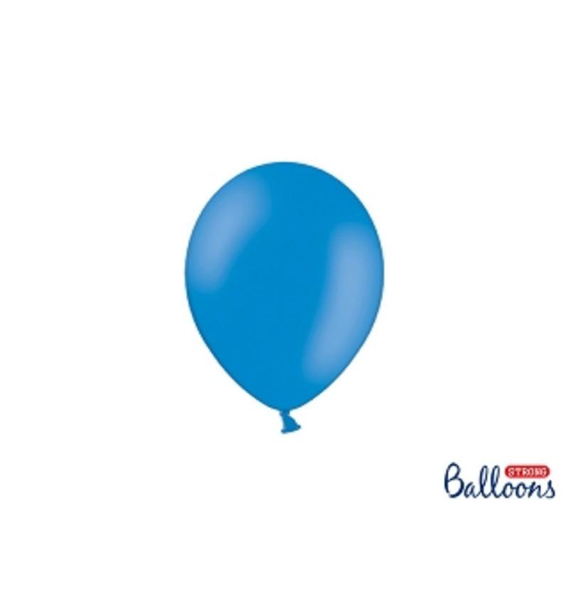 Set de 100 globos extra resistentes 12 cm azul semiclaro