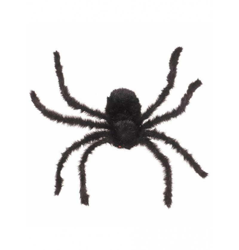Araña negra 76 cm